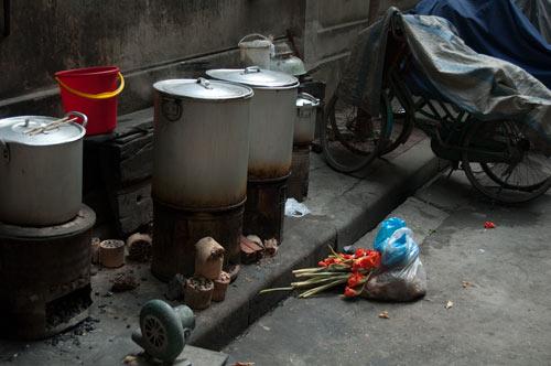 Street food 'kitchen'