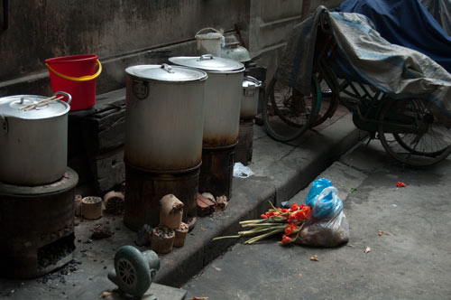 Street food 'kitchen'