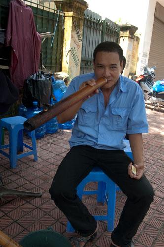 Smoking the Bong