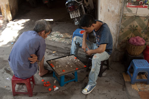 Board Game in the Lane