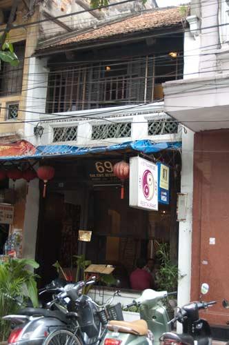 Exterior of 69 Restaurant