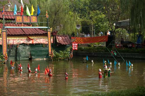 Dao Thuc Water Puppetry Troupe