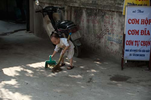 Young Street Sweeper