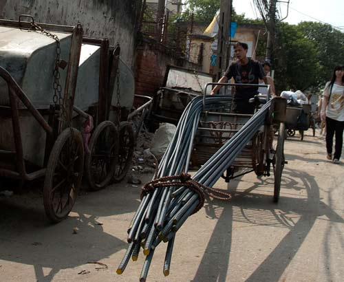 Rebar Transport
