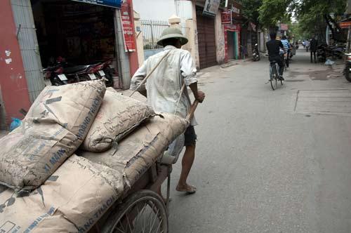 Cement Cart in Hanoi