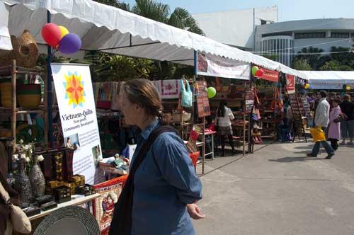 Craftlink craft fair at Museum of Ethnology