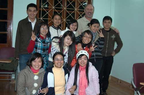 EduCare students, Hanoi, Vietnam