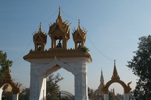 Pha That Luong, Vientiane, Laos