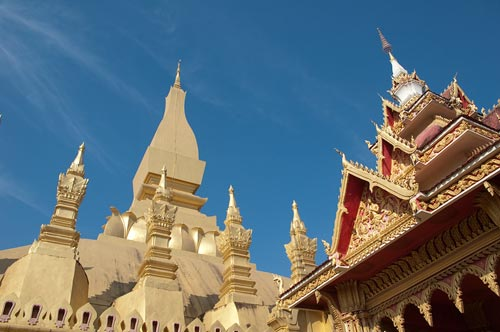 Pha That Luang, The Golden Stupa