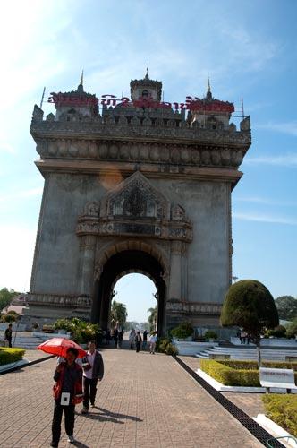 Patuxay, Vientiane, Laos