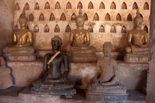 Wat Si Saket Buddhas