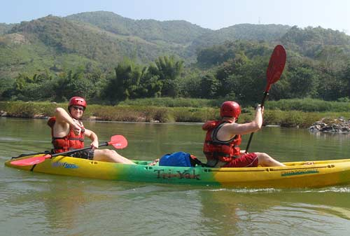 post-rapids, Nam Pa River, Laos