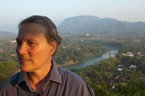 overlooking Luang Prabang from Phu Si