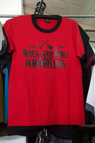 T-shirt at Morning Market, Vientiane, Laos