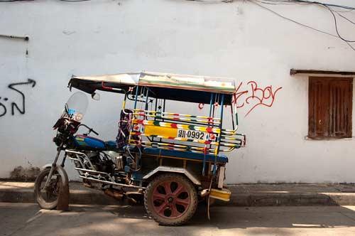 tuk tuk, Vientiane, Laos
