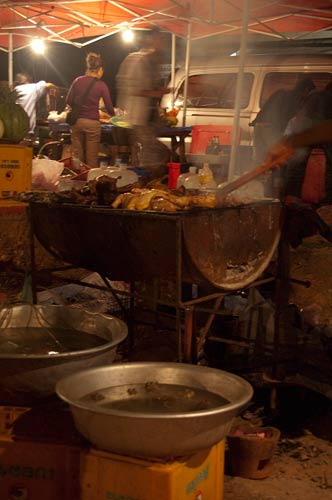 riverside grill, Vientiane, Laos