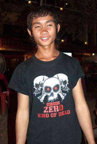 riverside grill employee, Vientiane, Laos