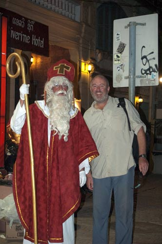 good old St. Nick in Vientiane, Laos