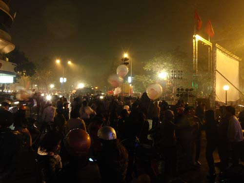 New Years Eve, Hanoi, Vietnam