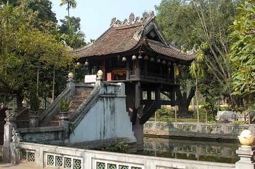 One Pillar Pagoda, Hanoi, Vietnam