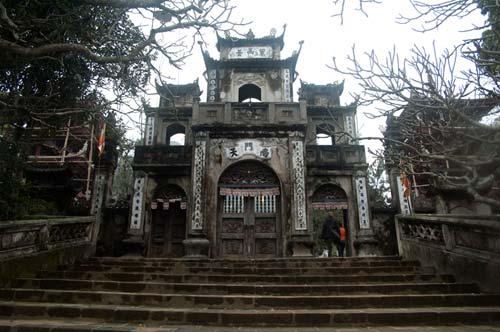 entrance to Thien Tru Pagoda