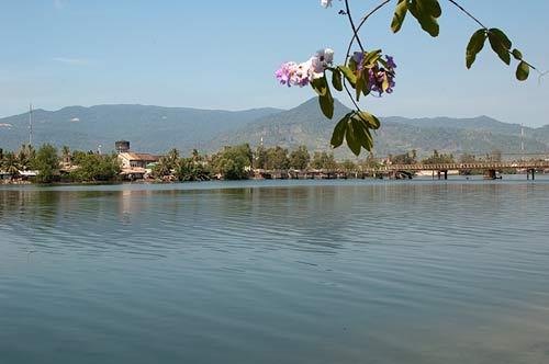 Kampot River, Kampot, Cambodia
