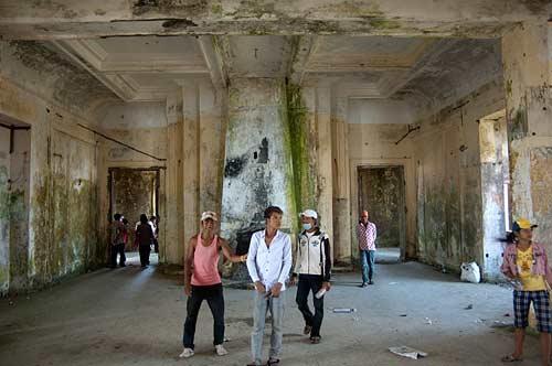 hotel interior, Bokor Hill Station, Cambodia