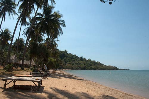 beach, Rabbit island, Cambodia