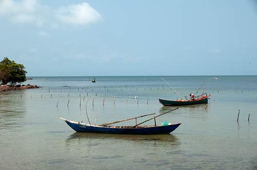 fishing boats, Rabbit Island, Cambodia