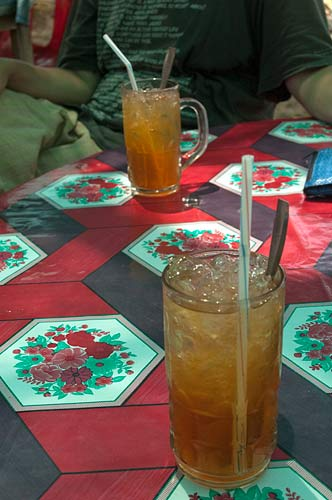 iced tea, Rabbit Island, Cambodia