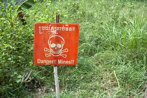 Landmine Museum, Angkor, Cambodia