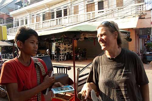street vendor, Siam Reap, Cambodia