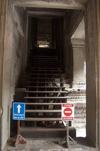 signage, Angkor Wat, Cambodia