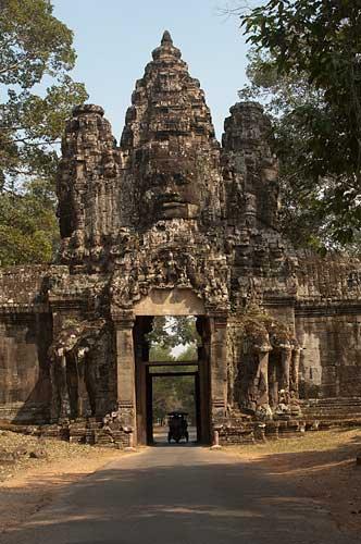 Ankor Thom east gate, Cambodia