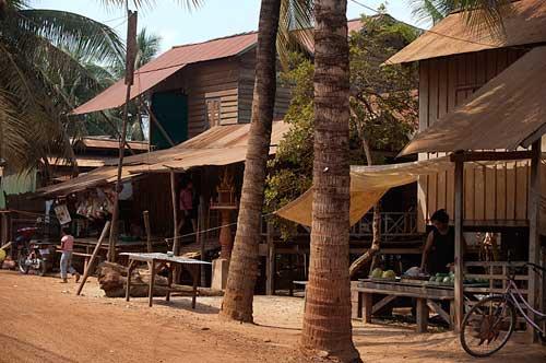 a home, Siem Reap, Cambodia