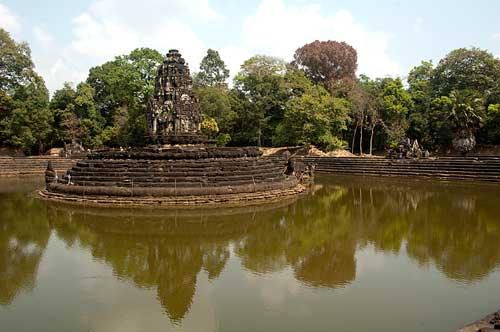 Preah Neak Pean, Angkor, Cambodia