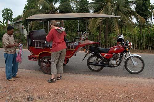 tuk tuk, Battambang, Cambodia