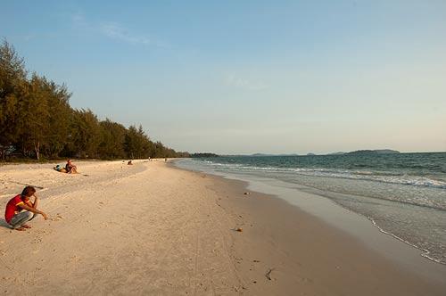 Occheuteal Beach, Sihanoukville, Cambodia