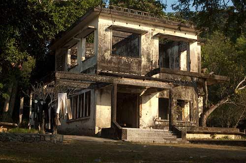 ruined resort, Kep, Cambodia