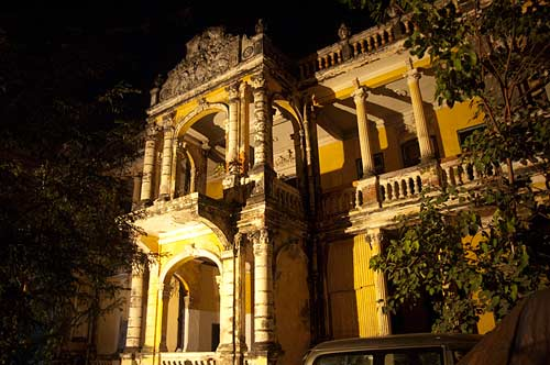 deserted mansion, Phnom Penh, Cambodia