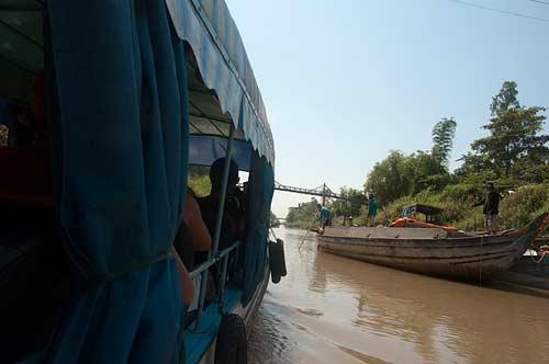 canal off the Mekong River, Vietnam