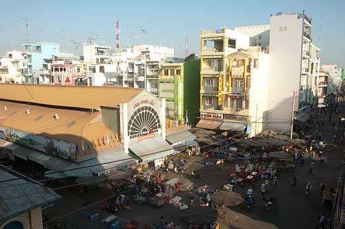 view of Chau Doc market