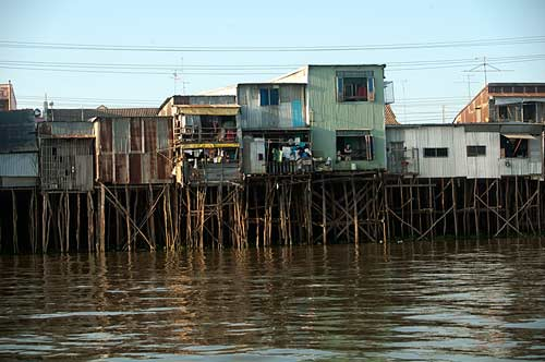 Chau Doc, Vietnam, waterfront