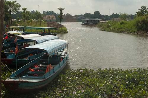boats, Chau Giang, Vietnam