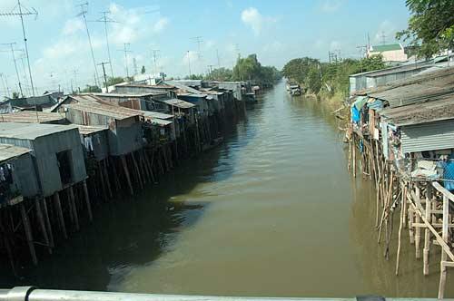 canal, Mekong Delta, Vietnam