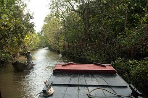 canal, An Binh Island, Vietnam