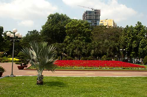park, Saigon, Vietnam