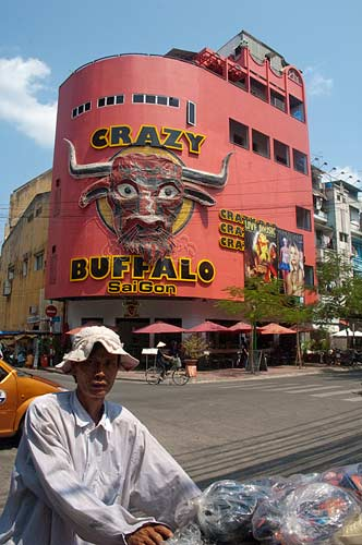 Crazy Buffalo by day, Saigon