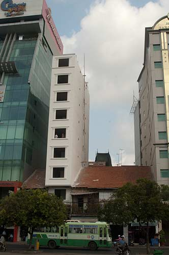 new building, Saigon, Vietnam