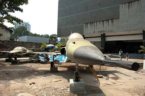 F-5A jet fighter, Museum of War Remnants, Saigon, Vietnam
